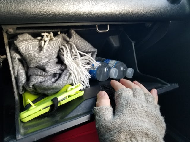 What do you keep in your glove box?