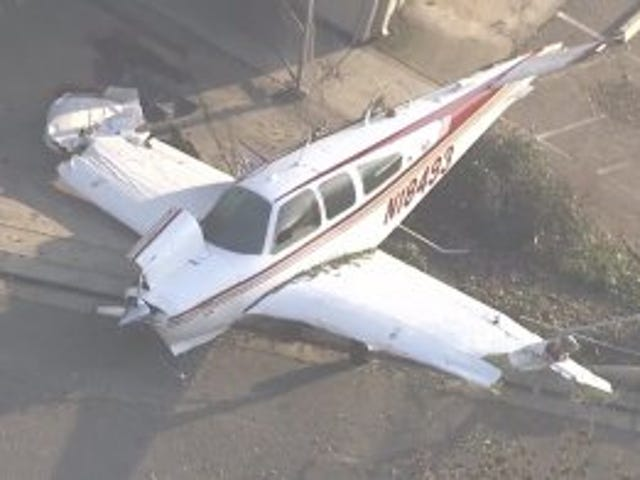 Beechcraft UAV testing in Modesto didn't go well...