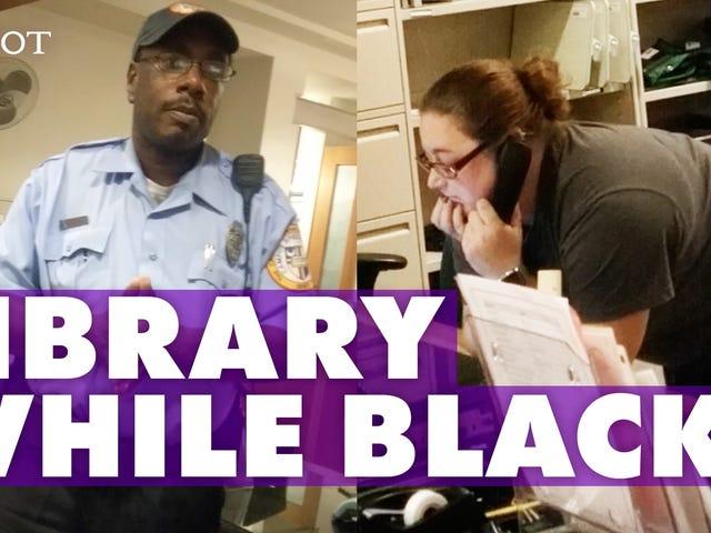 Video:司書は#StudyingWhileBlackでBrazen試みのための学生に警官を呼びます