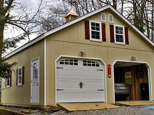 Anyone had Experience with PreFab Garages?