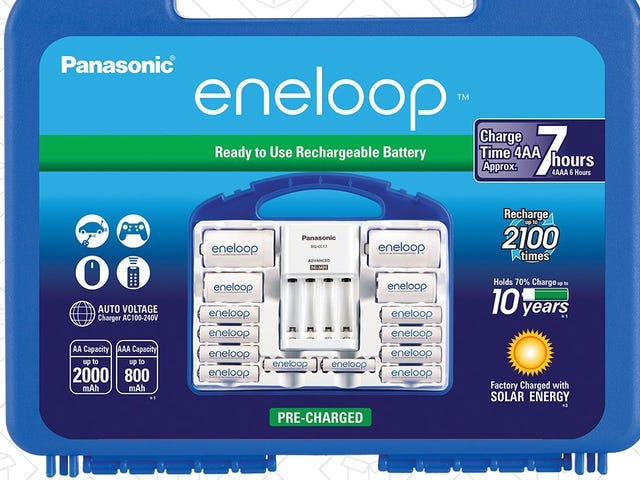 The Eneloop Power Pack Is Down to $26, If You Hurry