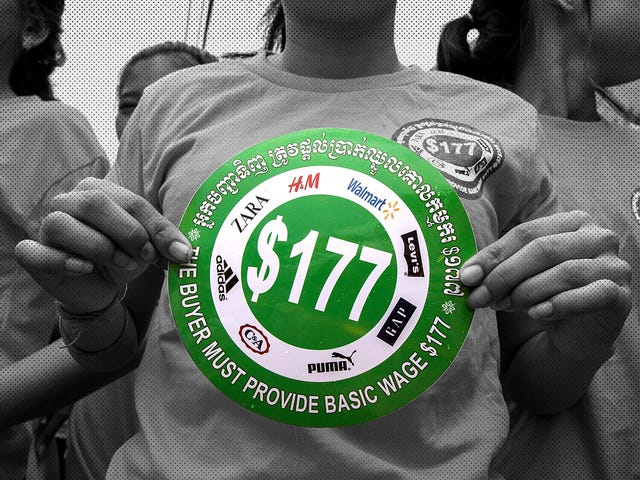 H&M's Cambodian Garment Workers Are Only Asking for $177 per Month: Why Can't They Get It?