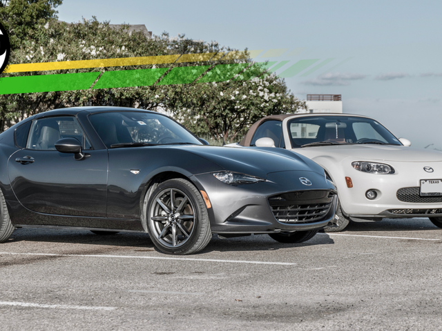 Here's How The Newest Mazda Miata Really Compares To The Old One