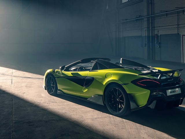 What Do You Want to Know About the 2019 McLaren 720S Spider and 600LT Spider?