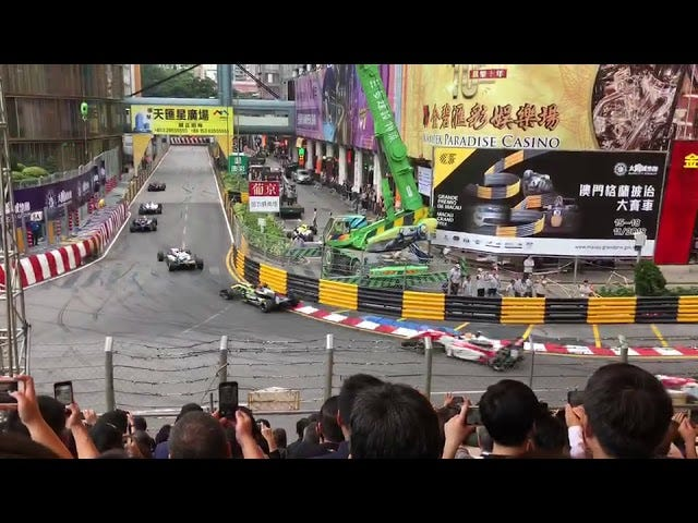 Huge Crash Involving Sophia Floersh at Formula 3