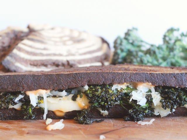 Make Any Veggie Sandwich Better by Treating It Like a Reuben