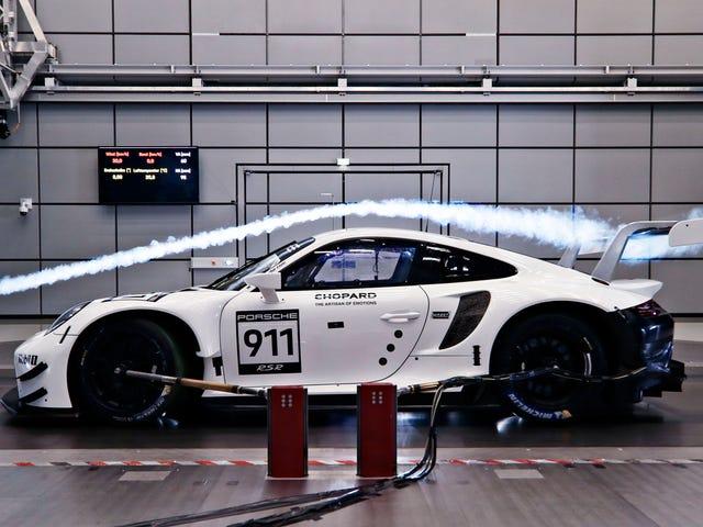 Porsche Новий Автомобіль Змагання Говорить Ні Turbos та Так Стороні Вихід Вихлопний