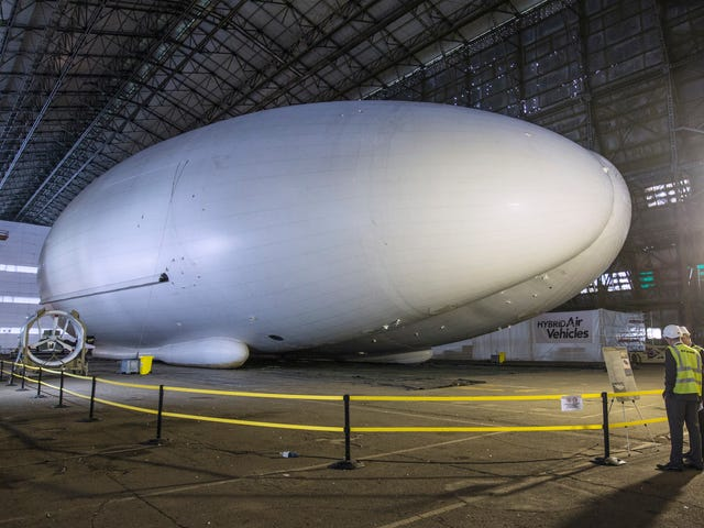 Airlander 10, Butt-Shaped Airship Prototype and World's Longest Aircraft, to Be Retired