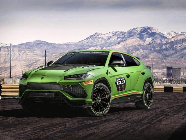 Lamborghini ei ollut kiduttanut Urus SUV Racing -sarjassa