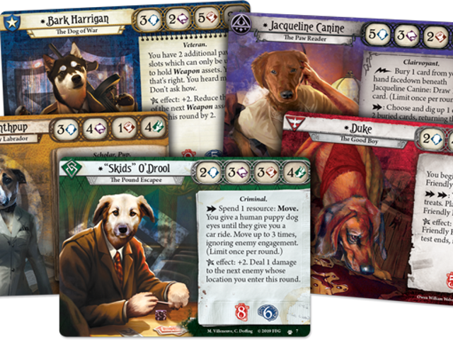 Arkham Horror's April Fool's Gag, Barkham Horror, Becomes Real Game