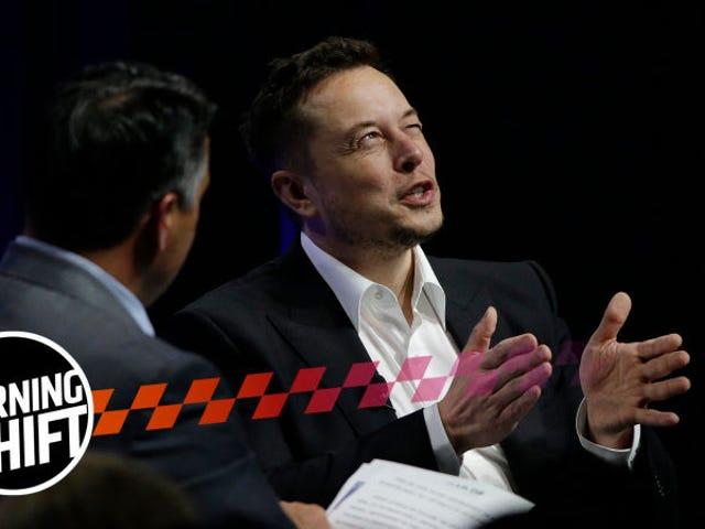 Elon Musk tiene bromas en medio del peor mes de Tesla en años