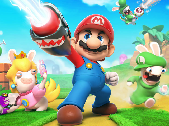 Here's How Ubisoft Convinced Nintendo To Let Mario Use Guns