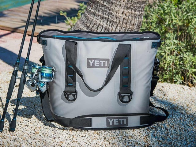 This Rare Deal on the YETI Hopper 40 Soft Cooler Will Probably Be Sold Out By Lunch