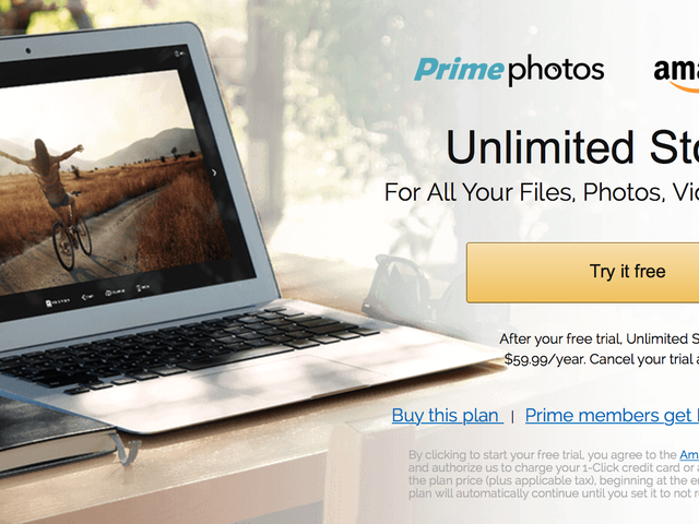 Save $12 on a Year of Unlimited Amazon Cloud Drive