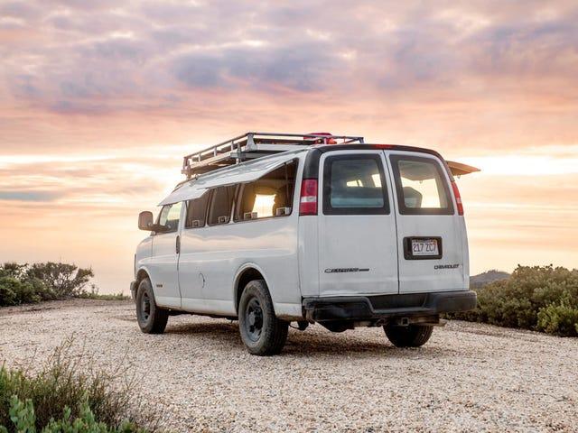 Cargo Van Living, In Style