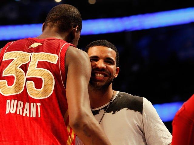 Giờ đáng sợ: Drake được cho là tự cô lập sau khi tiệc tùng với Kevin Durant, người đã thử nghiệm dương tính với virus coronavirus