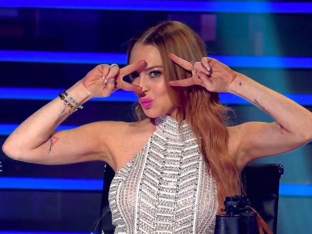 Jadi, bagaimana Lindsay Lohan sebagai Hakim pada Penyanyi bertopeng itu?