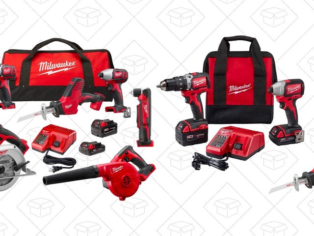 Gear Up For Your Next Project With Home Depot's One-Day Milwaukee Tool Sale