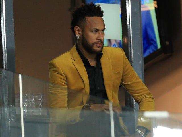 Oh Gott, Neymar macht das wirklich wieder