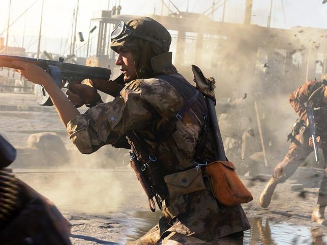 खिलाड़ी <i>Battlefield V</i> कमजोर बंदूकें पर विभाजित हैं