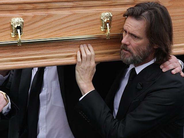 Jim Carrey demandó por permitir supuestamente el suicidio de su ex novia