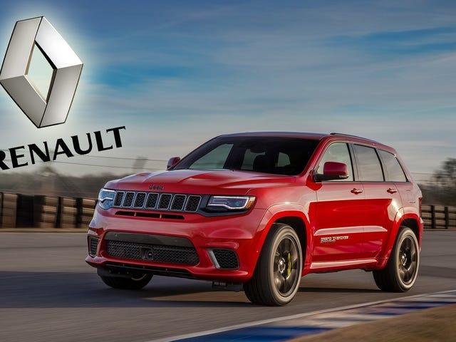 Fiat Chrysler föreslår formellt fusionsavtal med Renault