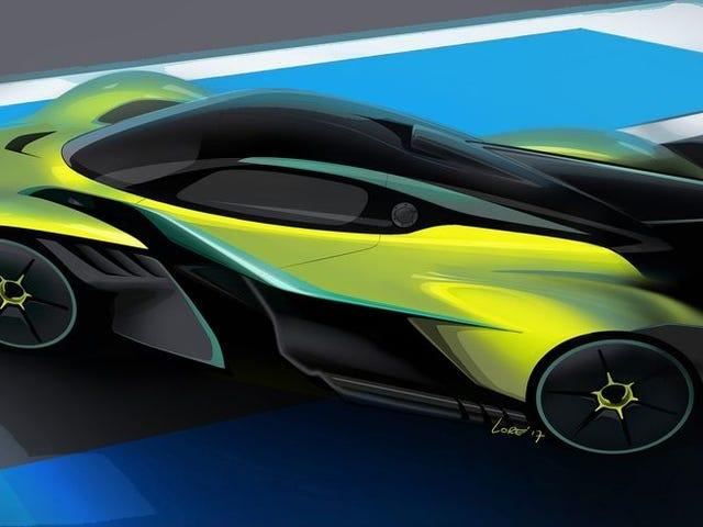 El nuevo coche de Aston Martin tiene 12 cilindros y es tan rápido como de Fórmula 1
