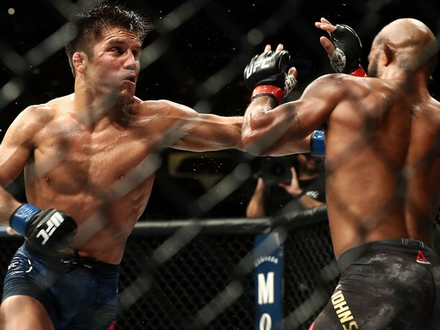 The UFC's Greatest-Ever Champion Finally Loses