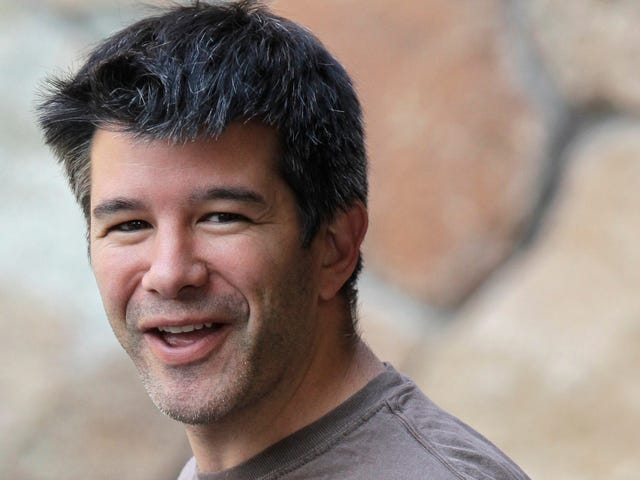 Uber's CEO Searches for Enlightenment in Company Lactation Room