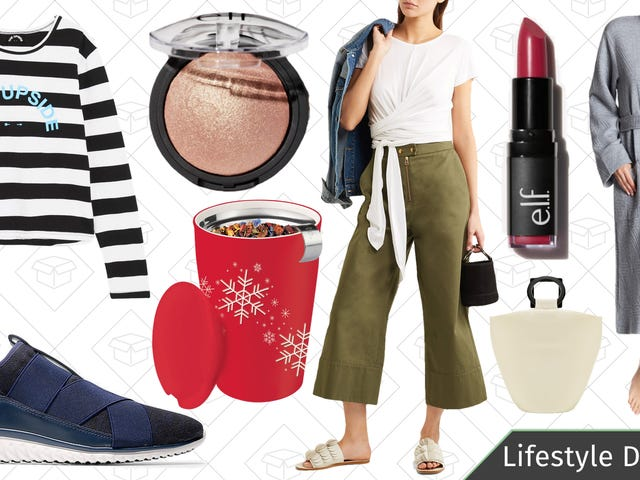 Tuesday's Best Lifestyle Deals: Tea Stuff, e.l.f. Cosmetics, Cole Haan, Net-a-Porter, and More