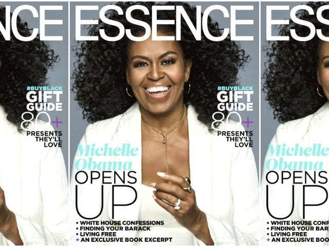 Obamaganza: Michelle Obama Continues Her Reign on Essence's Next Cover—in Curls!
