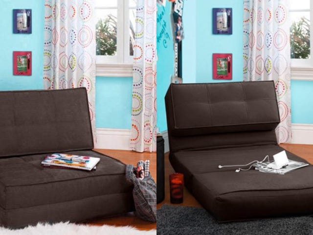 The Height of Luxury: This $79 Chair Is Also a Bed!