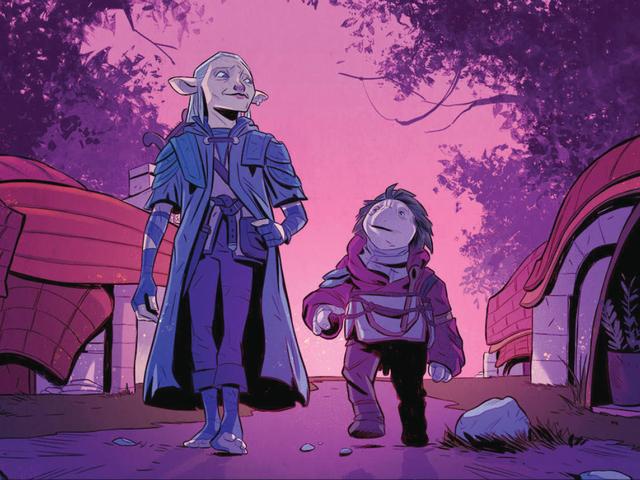 在《暗水晶:抗战年代》漫画中,霍普将获得他应得的冒险