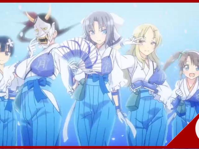 No último capítulo de ... Senran Kagura Shinovi Mestre: Tokyo Youma-Arc (Ch.09)