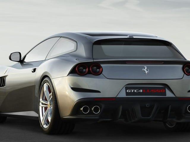 Ferrari er ekstremt dum og kalder sin SUV En 'FUV' I stedet: Rapport