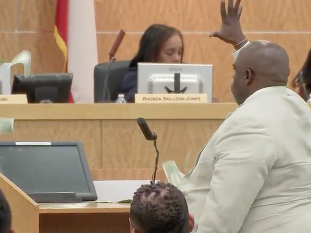 Houston Community Activist Throws Money at School Board: 'Everything Is Money-Driven Around This Place ... You Don't Care About Those Kids!'
