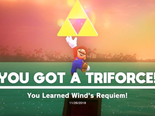 Zelda,Banjo Kazooie Levels Modded Into Super Mario Odyssey