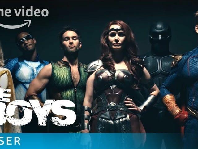 En meget NSFW The Boys trailer fører Karl Urban ind for at spankulere nogle superhelte