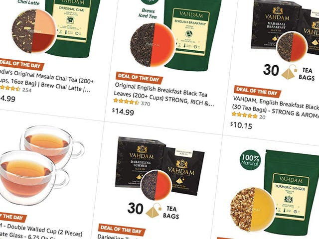 Tea-Lovers Rejoice, For This Gold Box Is For You