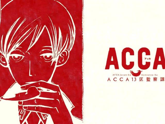 OP/ED A Day: Shadow and Truth - ACCA: 13-ku Kansatsu-ka