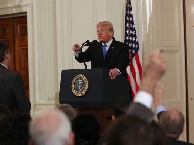 The White House Suspended CNN Correspondent Jim Acosta on a Lie and Shared Doctored Video Because They're Trash