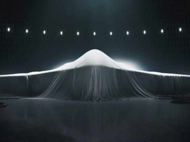Deze chillende advertentie onthult de lijnen van een uiterst geheime stealth-bommenwerper