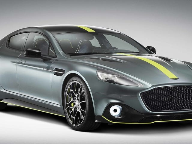 Aston Martin Wants to Make Sure Its First EV Will Be Able to Lap the Nürburgring, Which Is Hard
