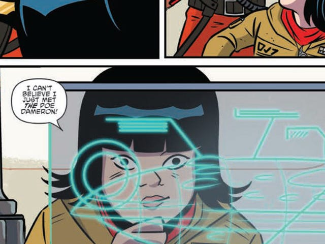 New Star Wars Comic Shows Rose Reacted to Meeting Poe as All of Us Would