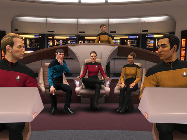 We Just Got A Good Star Trek: The Next Generation Video Game