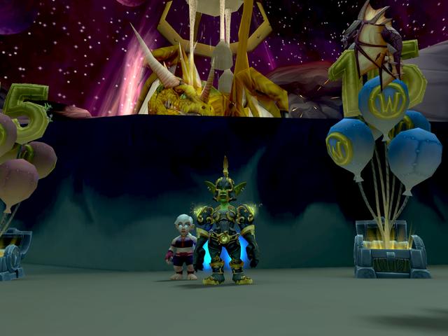 World of Warcrafts firande 15-årsjubileum skickar spelare tillbaka i tiden