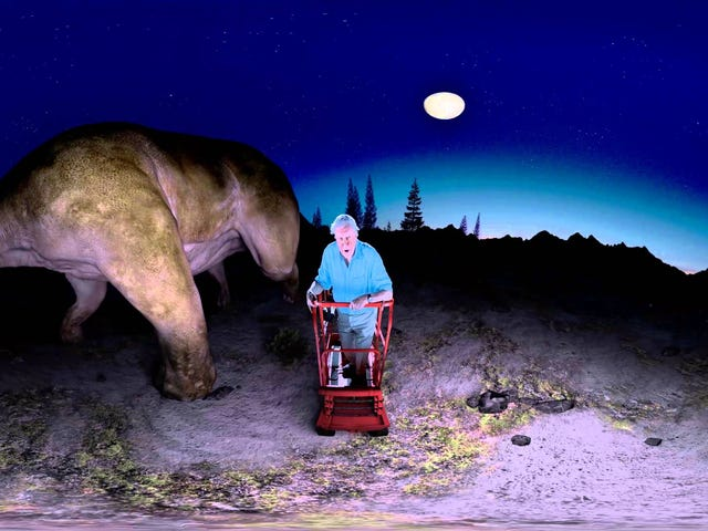 Dinosaurier sind in 360-Grad-Virtual-Reality so viel besser