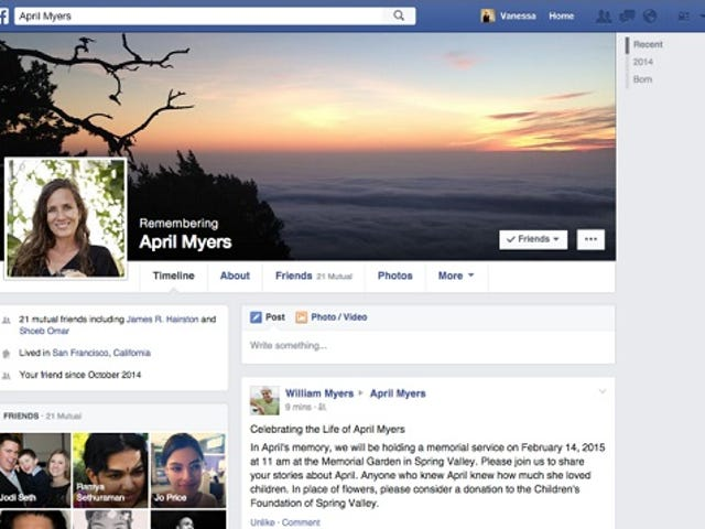 """Cara Mengatur """"Kontak Warisan"""" Facebook untuk When You Die"""
