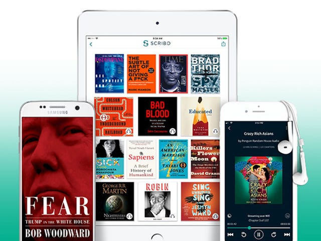 Save 20% On Scribd's Digital Library Of Over One Million Books ($7 Per Month)