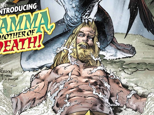 Earth gets a new creation myth in this exclusive Aquaman #45 preview